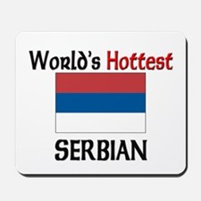 World's Hottest Serbian Mousepad