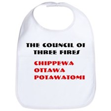 THREE FIRES Bib