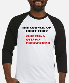 THREE FIRES Baseball Jersey