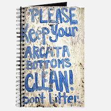 Keep Your Arcata Bottoms Clea Journal
