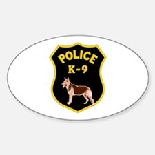 K9 Police Officers Decal