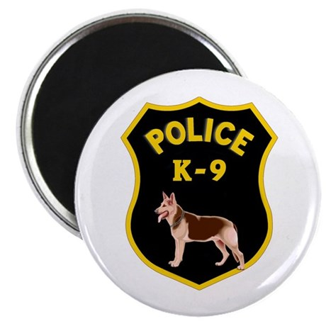 "K9 Police Officers 2.25"" Magnet (100 pack)"