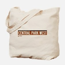 Central Park West in NY Tote Bag
