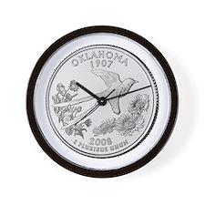 2008 Oklahoma State Quarter Wall Clock