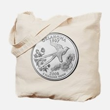 2008 Oklahoma State Quarter Tote Bag