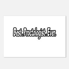"""Best. Proctologist. Ever."" Postcards (Package of"