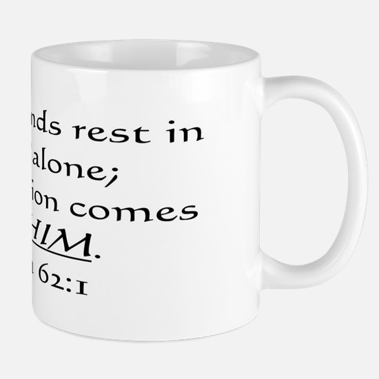 MY SOUL FINDS REST IN GOD ALO Mug