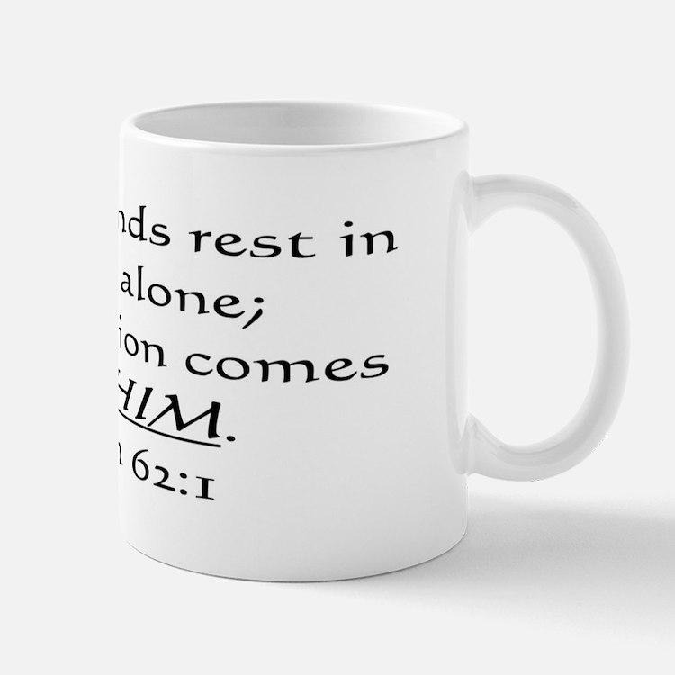 MY SOUL FINDS REST IN GOD ALO Mug