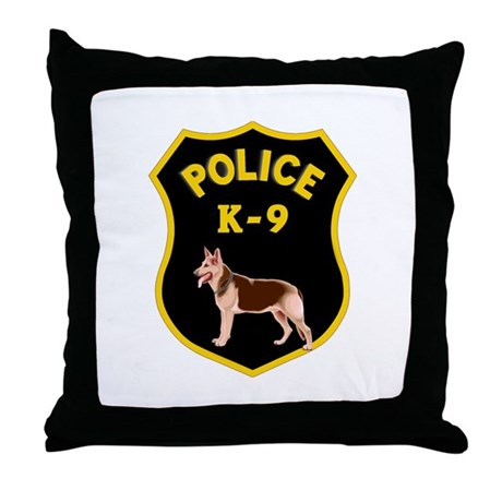 K9 Police Officers Throw Pillow