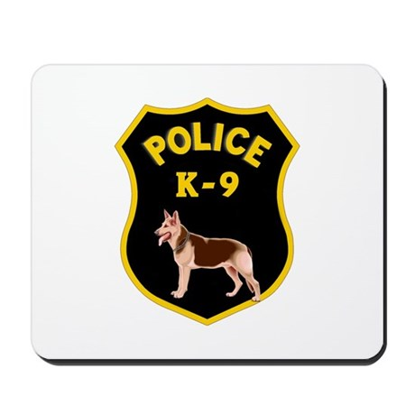 K9 Police Officers Mousepad