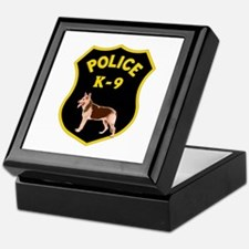 K9 Police Officers Keepsake Box