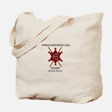 Needleworth Jail Tote Bag