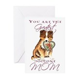 Sheltie mothers day Greeting Cards