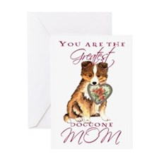 Sheltie Mother's Day Greeting Card