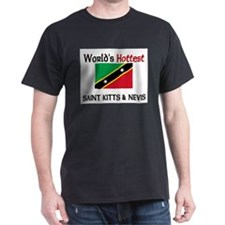 World's Hottest Saint Kitts & Nevis T-Shirt