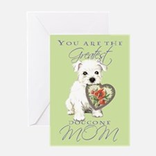 Cavalier Mother's Day Greeting Card