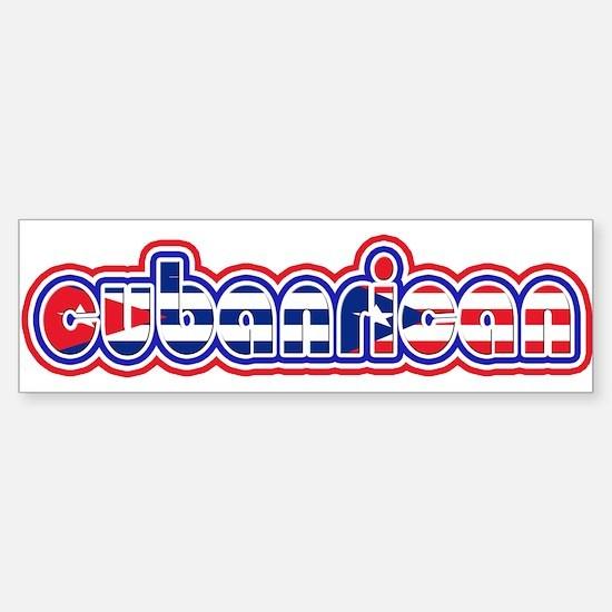 CubanRican Bumper Bumper Bumper Sticker