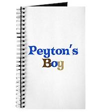 Peyton's Boy Journal