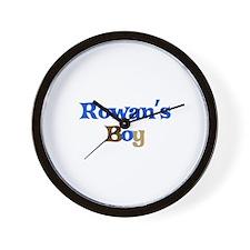 Rowan's Boy Wall Clock