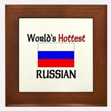 World's Hottest Russian Framed Tile