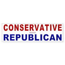 Conservative Republican Bumper Bumper Sticker