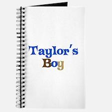 Taylor's Boy Journal