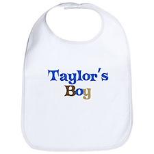 Taylor's Boy Bib