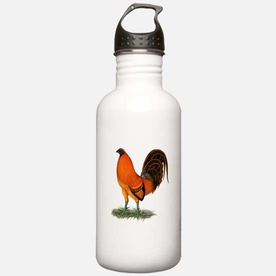 Gamecock Ginger Red Rooster Water Bottle
