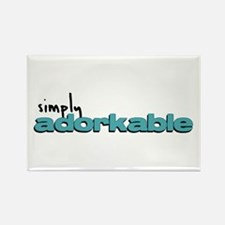 Simply Adorkable Rectangle Magnet