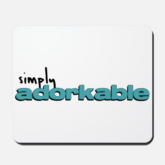 Simply Adorkable Mousepad