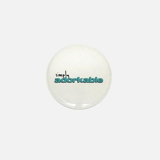 Simply Adorkable Mini Button