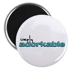 Simply Adorkable Magnet