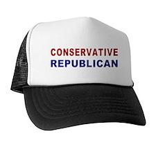 Conservative Republican Trucker Hat