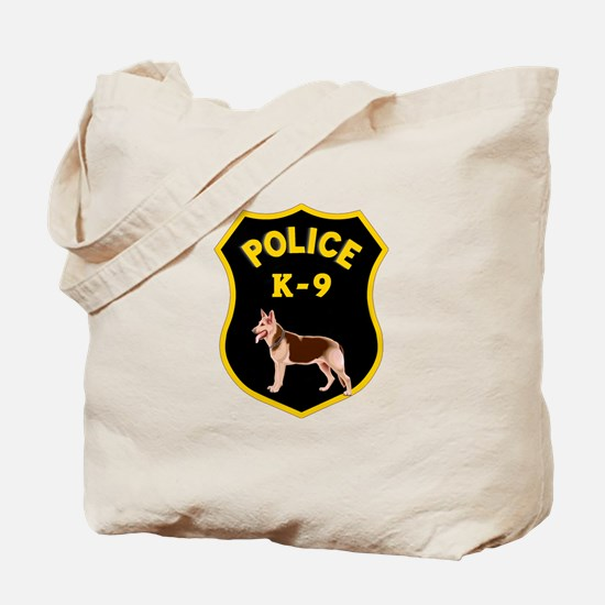 K9 Police Officers Tote Bag