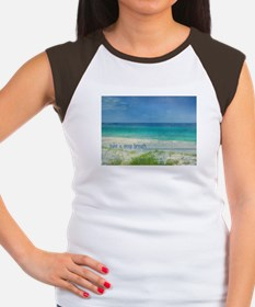 Beach Women's Cap Sleeve T-Shirt
