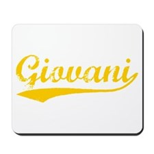 Vintage Giovani (Orange) Mousepad