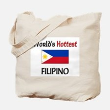 World's Hottest Filipino Tote Bag