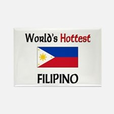 World's Hottest Filipino Rectangle Magnet