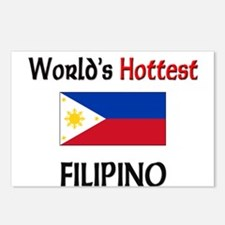 World's Hottest Filipino Postcards (Package of 8)