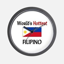 World's Hottest Filipino Wall Clock