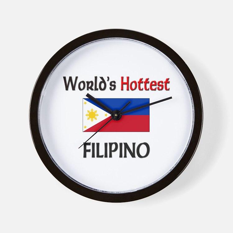 World's Hottest Filipino Wall Clock