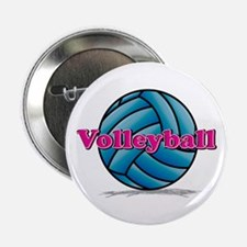 "Volleyball 2.25"" Button"