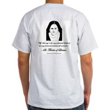 "St. Therese Grey T: ""My Little Way"""