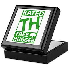 Tree Hugger Environmental Keepsake Box