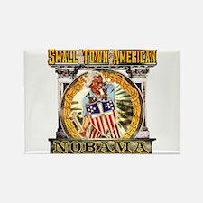 Nobama anti obama Rectangle Magnet (100 pack)