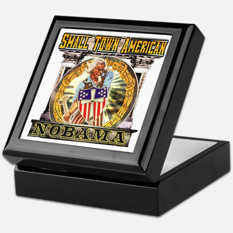 Nobama anti obama Keepsake Box