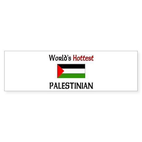 World's Hottest Palestinian Bumper Sticker