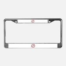 Cute Custody License Plate Frame