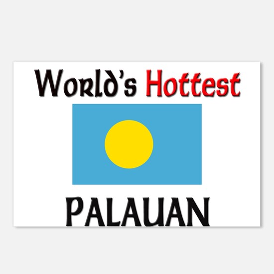 World's Hottest Palauan Postcards (Package of 8)