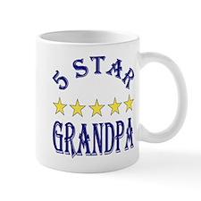 5 Star Grandpa Center Mug